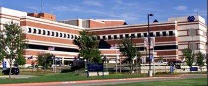 The VA North Texas Health Care System building