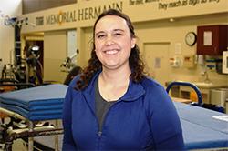 Katie Nedley, OTD'12, BSHS'12