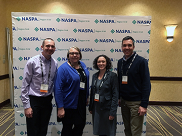 the National Association of Student Personnel Administrators (NASPA)