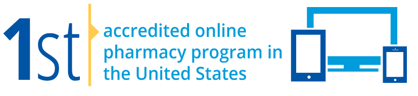 1st accredited online pharmacy program in the United States