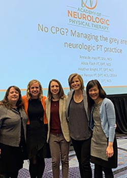 The Department of Physical Therapy faculty & staff at the Combined Sections Meeting