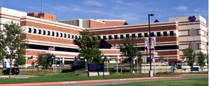 The VA North Texas Health Care System building
